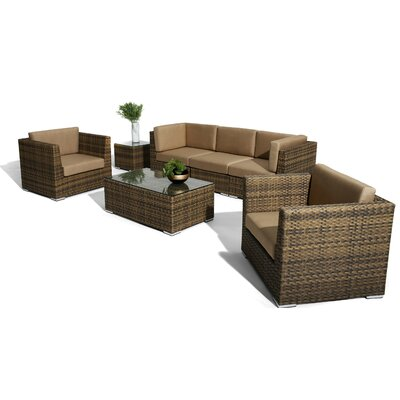 Annapolis Deep Seating Group with Cushions