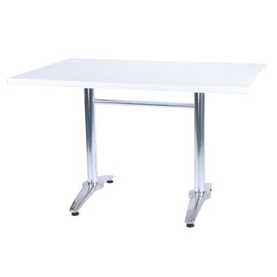 Duratop Dining Table Top Finish: Snow White