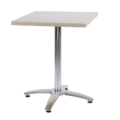 Duratop Dining Table Table Size: 36 L x 36 W, Top Finish: Sahara
