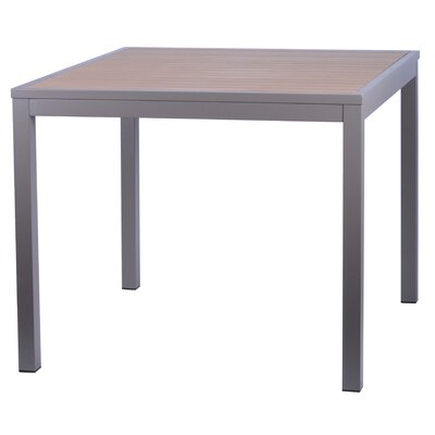 Miami Dining Table Finish: Faux Teak/ Taupe