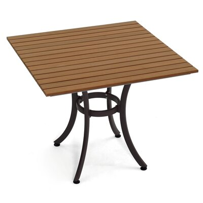 Dining Table Table Size: 36 L x 36 W
