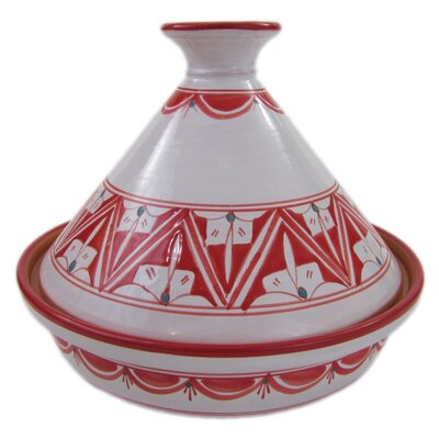 Nejma 1.5 Qt. Ceramic Round Tagine
