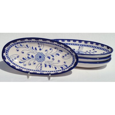 Azoura Design Small Oval Platters (set Of Four)