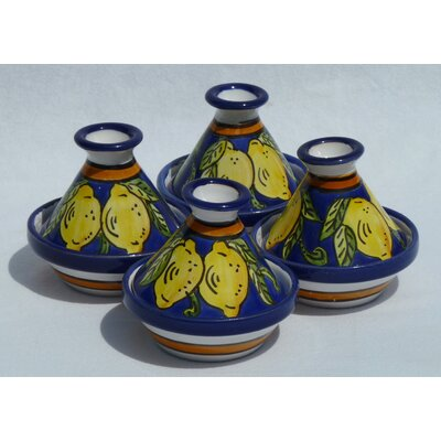 Citronique Design Mini Tagines (Set of Four)