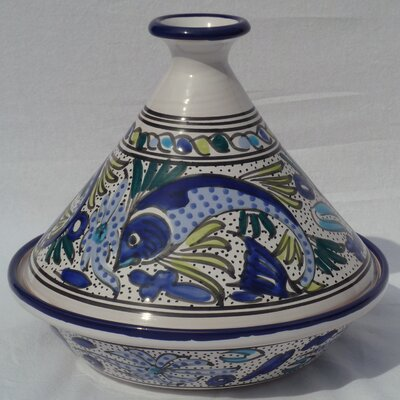 Aqua Fish Design Serving Tagine