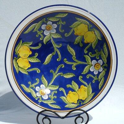 Le Souk Ceramique-citronique Design Large Oval Platters (set Of Two)