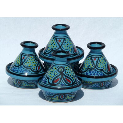 Sabrine Design Mini Tagines (Set of Four)