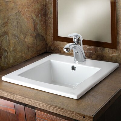 Sauberzen Vitreous 16 Single Bathroom Vanity Top
