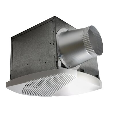 NuVent High Efficiency Bathroom Fan with Light