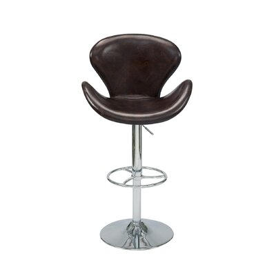 Laymon Adjustable Height Swivel Bar Stool