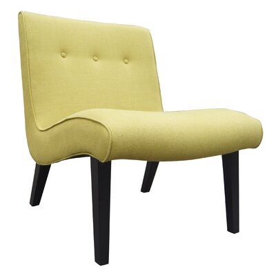 Cantin Lounge Chair Upholstery Color: Green