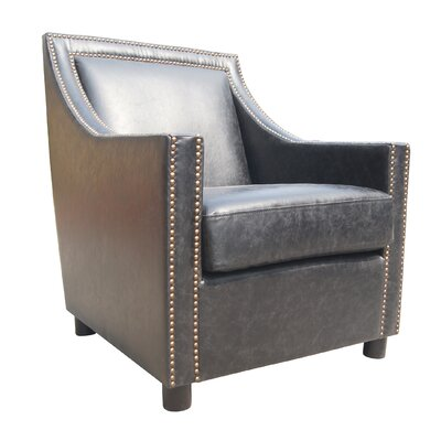 Conan Lounge Chair Upholstery Color: Black
