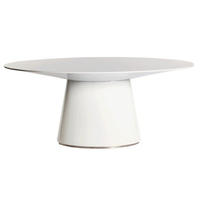 Wade Dining Table Finish: White