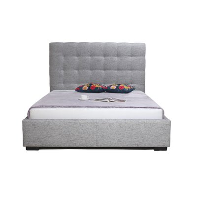 Upholstered Storage Platform Bed Size: Queen, Upholstery: Light Grey