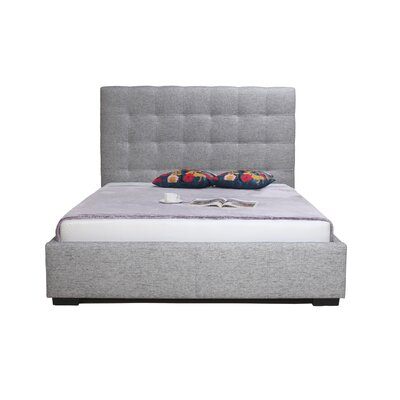 Eddyville Upholstered Storage Platform Bed Size: King, Color: Light Grey