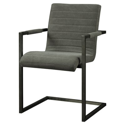 Barrigan Armchair Finish: Grey