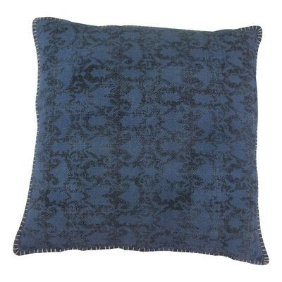 Paragon Cotton Throw Pillow Color: Blue