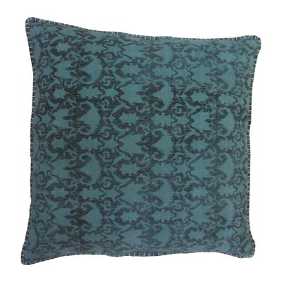 Paragon Cotton Throw Pillow Color: Turquoise