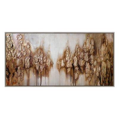 'Lake Shadows' Framed Painting Print