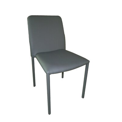 Promo Side Chair Upholstery: Dark Gray
