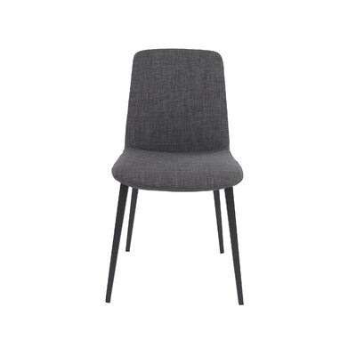 Kito Side Chair Upholstery: Gray