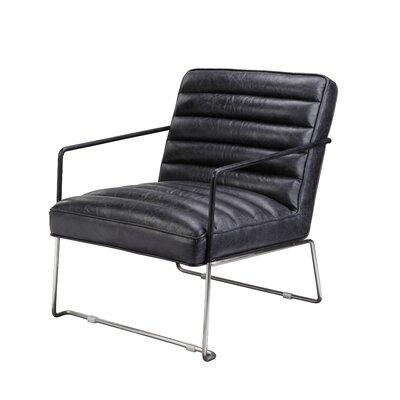 Brinkman Armchair Upholstery: Black