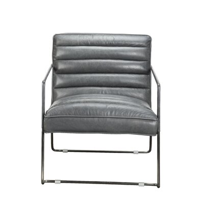 Brinkman Armchair Color: Grey