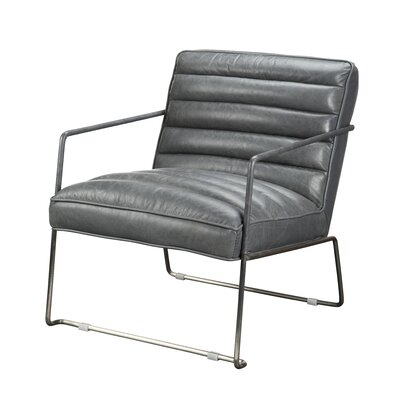 Brinkman Armchair Upholstery: Grey