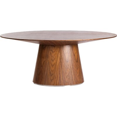 Wade Dining Table Finish: Walnut
