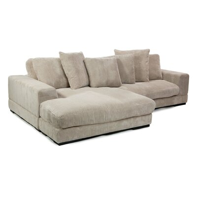 Honey Reversible Modular Sectional Upholstery: Cappuccino