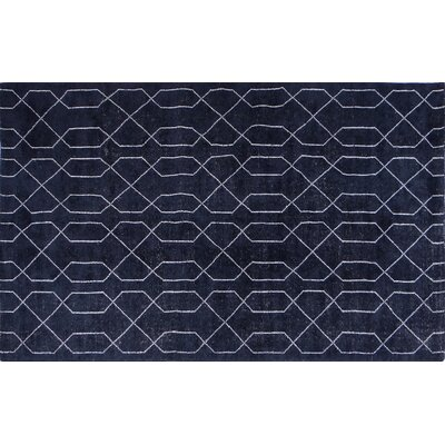 Seda Dark Blue Area Rug