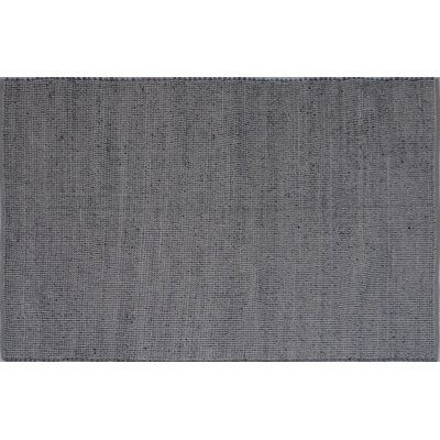 Elof Hand Woven Wool and Cotton Gray Area Rug