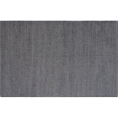 Elof Hand Woven Wool and Cotton Gray Area Rug