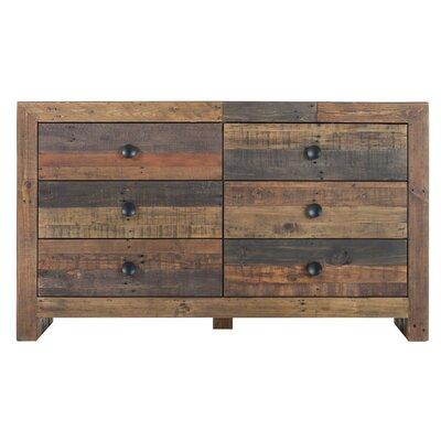 Pico Rivera 6 Drawer Standard Dresser
