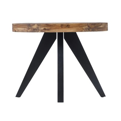 Serita Oval Console Table