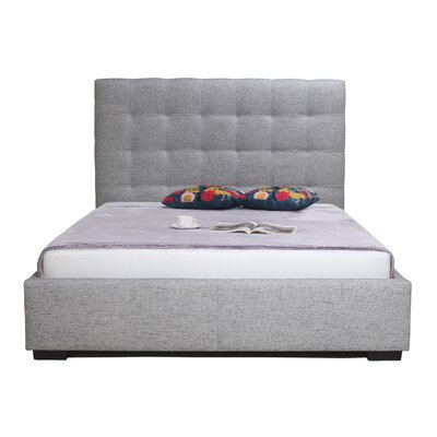 Chianna California King Storage Platform Bed Color: Light Gray