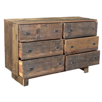 Reiss 6 Drawer Standard Dresser