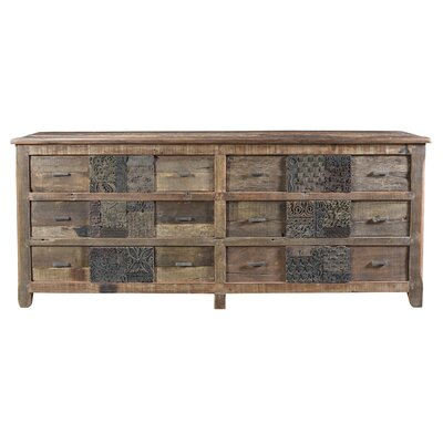 Catherine 6 Drawer Standard Dresser