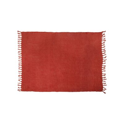 Feingold Linen Throw Color: Sierra