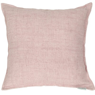 Rory Lemmy Linen Throw Pillow Color: Purple