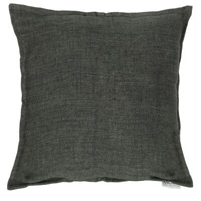 Rory Lemmy Linen Throw Pillow Color: Charcoal Gray