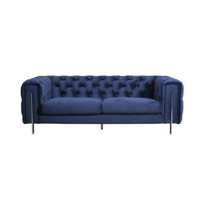Moonsu Standard Sofa Upholstery: Blue
