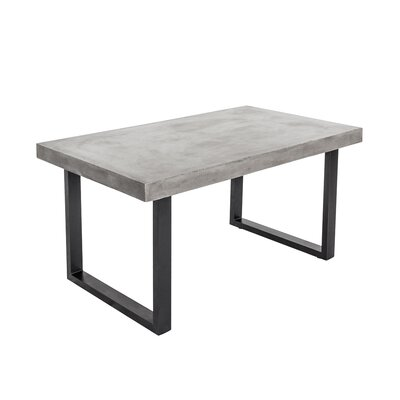 Ryne Outdoor Dining Table Size: 29H x 63 W x 35.5D