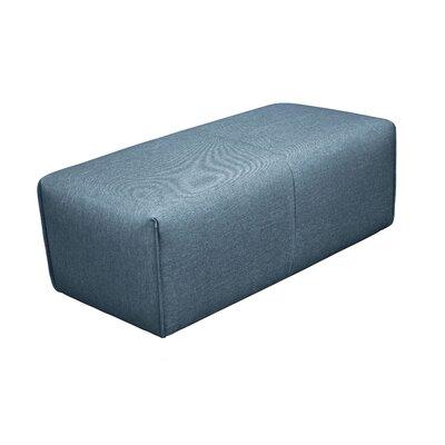 Rembert Ottoman Upholstery: Dark Blue