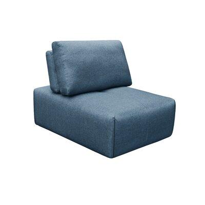 Rembert Slipper Ottoman Upholstery: Dark Blue
