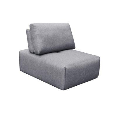Rembert Slipper Ottoman Upholstery: Gray
