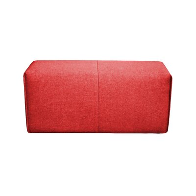 Rembert Ottoman Upholstery: Red