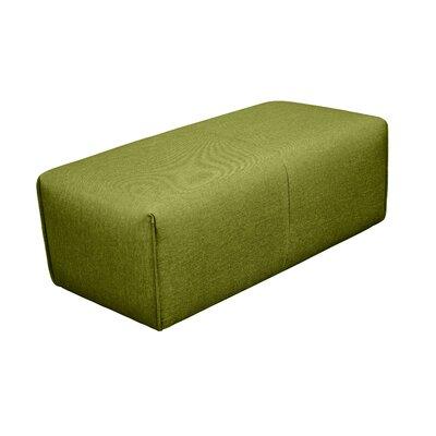 Rembert Ottoman Upholstery: Green