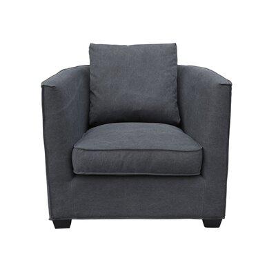 Kaja Armchair Upholstery: Black