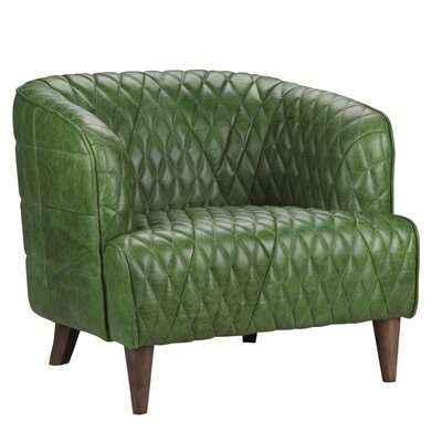 Guage Armchair Upholstery: Emerald
